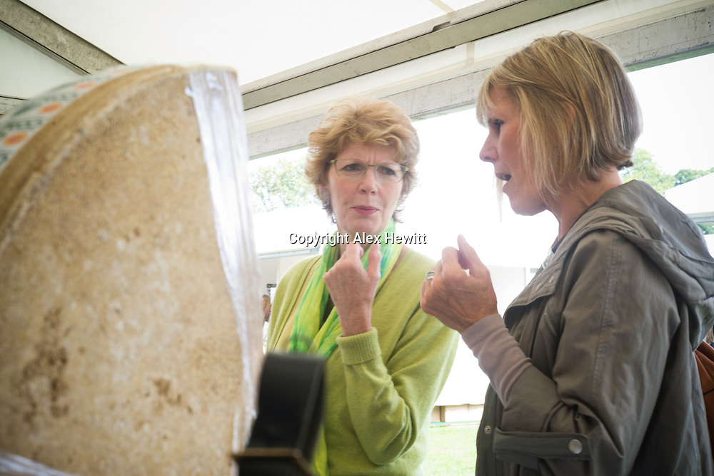 Comte Cheese stall at the Foodies Festival Edinburgh. 8/9th August 2014.<br /> <br /> Photograph by Alex Hewitt<br /> alex.hewitt@gmail.com<br /> 07789 871540
