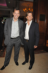 Left to right, DUNCAN BANNATYNE and RICHARD FARLEIGH at a party to celebrate the 180th Anniversary of The Spectator magazine, held at the Hyatt Regency London - The Churchill, 30 Portman Square, London on 7th May 2008.<br /><br />NON EXCLUSIVE - WORLD RIGHTS