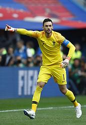 July 6, 2018 - Nizhny Novgorod, Russia - France v Uruguay - Quarter-finals FIFA World Cup Russia 2018.Hugo Lloris (France) at Nizhny Novgorod Stadium in Russia on July 6, 2018. (Credit Image: © Matteo Ciambelli/NurPhoto via ZUMA Press)