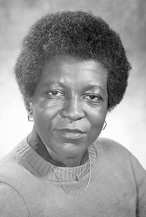 16822Dr. Francine Childs Copy Photo from 1988 neg #8504..African-American Studies