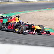 NLD/Zandvoort/20180520 - Jumbo Race dagen 2018, Max Verstappen en Daniel Ricciardo in de Red Bull Formule 1 auto
