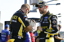 July 13, 2018 - Sparta, Kentucky, United States of America - Matt Kenseth (6) hangs out on pit road before qualifying for the Quaker State 400 at Kentucky Speedway in Sparta, Kentucky. (Credit Image: © Chris Owens Asp Inc/ASP via ZUMA Wire)