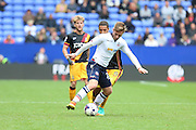 /James Henry of Bolton Wanderers is under pressure from Bradford City midfielder Timothee Dieng (8) during the EFL Sky Bet League 1 match between Bolton Wanderers and Bradford City at the Macron Stadium, Bolton, England on 24 September 2016. Photo by Simon Brady.