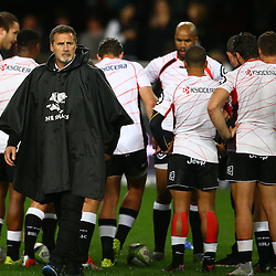 DURBAN, SOUTH AFRICA, 9,JULY, 2016 Robert du Preez (Assistant Coach) of the Cell C Sharks during The Cell C Sharks vs Toyota Cheetahs  Super Rugby Match at Growthpoint Kings Park in Durban, South Africa. (Photo by Steve Haag)<br /> <br /> images for social media must have consent from Steve Haag