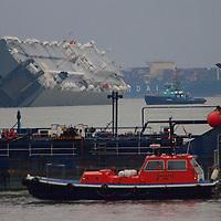 Hoegh Osaka capsize