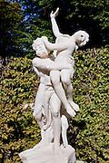 Marble statue Sanssouci Park, Potsdam, Germany