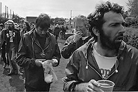 People's  March for Jobs, Yorkshire to London. to Loughborough 15/05/1981