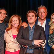NLD/Amsterdam /20130418 - Perspresentatie X-Factor 2013, Ali B, Angela Groothuizen, Martijn Krabbe, Gordon, Candy Dulfer