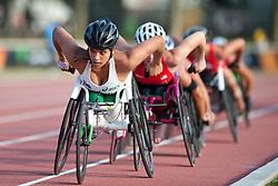 de ROZARIO Madison, AUS, 5000m, T54, 2013 IPC Athletics World Championships, Lyon, France