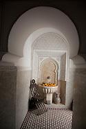 Morocco, Marrakech, Ryad Ifoulki near Jama el fnaa square   in the center of the medina, old city  Marrakech - Morocco   /  Ryad de charme  IFOULKI pres de la Place Jama el Fnaa , au centre de la Medina, dans la vielle ville    Marrakech - Maroc