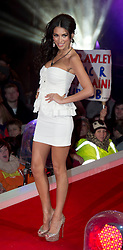 Contestants Georgia Salpa at the launch of  Celebrity Big Brother 2012 in London , Thursday 5th January 2012. Photo by: i-Images
