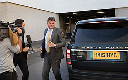 © Licensed to London News Pictures. 23/08/2016. London, UK. BHS buyer Dominic Chappell arrives at Aldershot Magistrates court. Mr Chappell has already pleaded guilty to speeding in Andover in April 2016. He faces a driving ban as he already has 10 points on his licence. Photo credit: Peter Macdiarmid/LNP