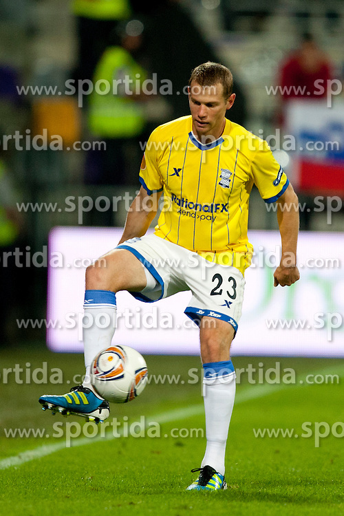 Jonathan Michael Paul Spector of Birmingham City at 2nd Round of Europe League football match between NK Maribor (Slovenia) and Birmingham City (England), on September 29, 2011, in Maribor, Slovenia.  (Photo by Urban Urbanc / Sportida)