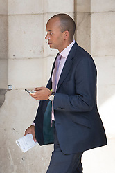 © Licensed to London News Pictures. 27/06/2016. London, UK.  Labour MP Chuka Umunna  is seen in Parliament. Labour Party Leader Jeremy Corbyn is making new appointments to his shadow cabinet after a number of resignations. Photo credit: Peter Macdiarmid/LNP