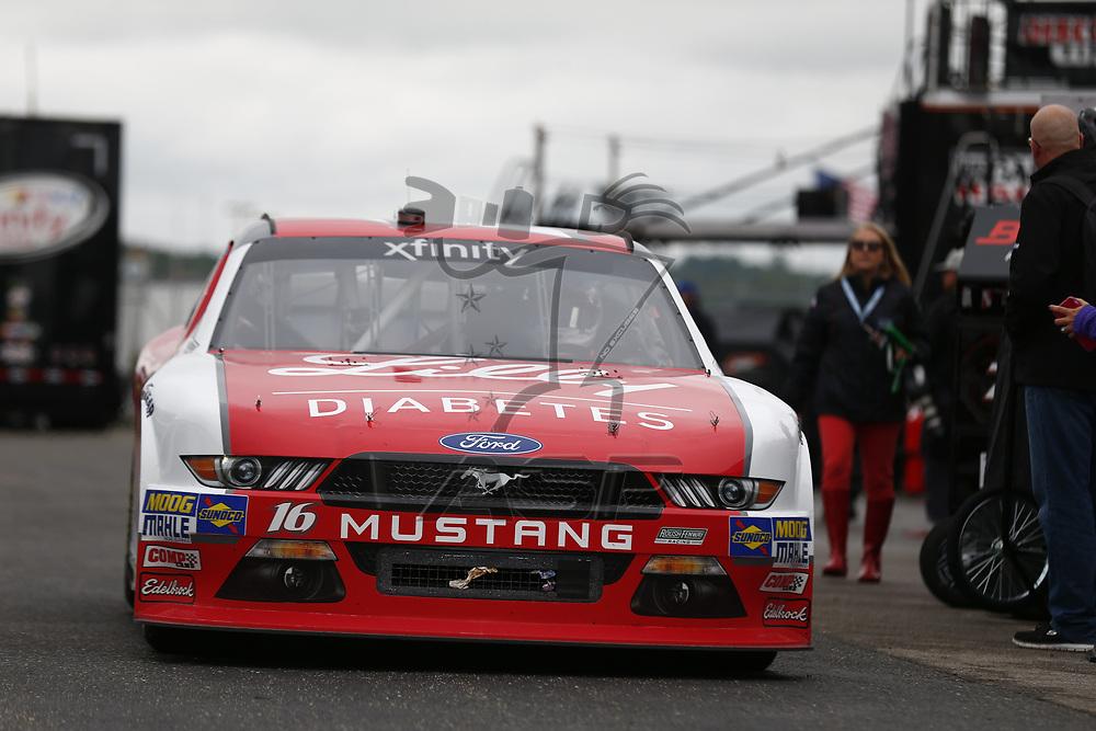 May 05, 2017 - Talladega, Alabama, USA: The NASCAR Xfinity Series teams take to the track to practice for the Spark Energy 300 at Talladega Superspeedway in Talladega, Alabama.