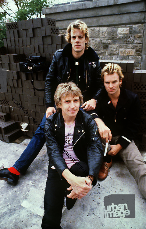 The Police - Group - 1979