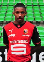 Steven MOREIRA - 19.09.2013 - Photo officielle - Rennes - Ligue 1<br /> Photo : Philippe Le Brech / Icon Sport