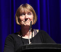 Harriet Harman QC MP, Shadow Secretary of State for Culture, Media and Sport delivered the Keynote speech at The BPI AGM and ACM 2012, BAFTA, Picadilly, London..Tuesday, July.3, 2012 (Photo/John Marshall JME)