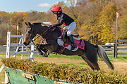 at the 85th running of the Pennsylvania Hunt Cup Races in Kennett Square, Pa on 3 November 2019.  Photograph By Jim Graham