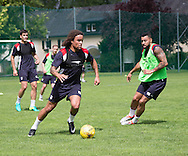 Dundee&rsquo;s Yordi Teijsse and Kane Hemmings - Day 2 of Dundee FC pre-season training camp in Obertraun, Austria<br /> <br />  - &copy; David Young - www.davidyoungphoto.co.uk - email: davidyoungphoto@gmail.com