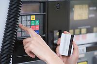 Fuel pump payment kiosk