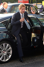 SEP 22 2014 Prince Harry arrives at the WellChild Awards