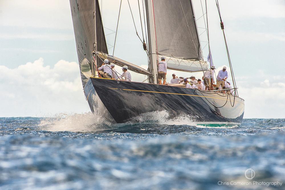 Bermuda, 13th June 2017. America's Cup Superyacht regatta. J Class, Topaz J8.