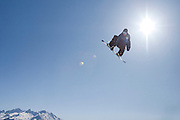 Verbier, Switzerland. March 23rd 2010..Verbier Swatch Snowpark - La Chaux..