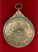 Astrolabe, 11th century, Arabian