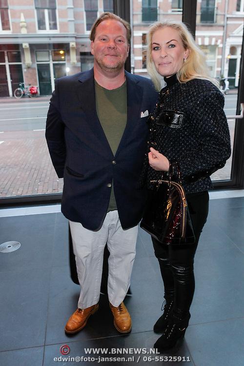 NLD/Amsterdam/20120420 - Show Joan Collins, Bastiaan van Schaik en Annemieke Hart