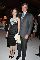 PRINCE & PRINCESS KARL von AUERSPERG-BREUNNER at a dinner hosted by Cartier following the following the opening of the Chelsea Flower Show 2012 held at Battersea Power Station, London on 21st May 2012.