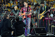 May 25th 2011: James Blunt before game 1 of the 2011 State of Origin series at Suncorp Stadium in Brisbane, Australia on May 25, 2011. Photo by Matt Roberts/mattrIMAGES.com.au / QRL