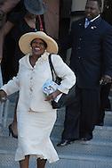 16 August 2008 - Chicago, Illinois - Dorothy Tillman,.Former Chicago Alderman.Bernie Mac Public Memorial.Venue: House of Hope, 752 E 114th St, Chicago, IL, 12pm. Photo Credit: Heather A. Lindquist/Sipa.