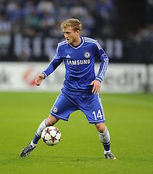Chelsea's Andre Schurrle - Photo mandatory by-line: Joe Meredith/JMP - Tel: Mobile: 07966 386802 22/10/2013 - SPORT - FOOTBALL - Veltins-Arena - Gelsenkirchen - FC Schalke 04 v Chelsea - CHAMPIONS LEAGUE - GROUP E