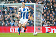 Brighton and Hove Albion defender Dan Burn (33) during the The FA Cup 5th round match between Brighton and Hove Albion and Derby County at the American Express Community Stadium, Brighton and Hove, England on 16 February 2019.