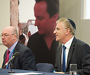 Conservative Party Conference, Manchester, Great Britain <br /> 3rd October 2011 <br /> <br />  Conservative Friends of Israel <br /> fringe meeting <br /> <br /> with <br /> <br /> H E Daniel Taub <br /> Ambassador of Israel <br /> <br /> Alistair Burt <br /> Parliamentary Under Secretary of State Foreign &amp; Commonwealth Office<br /> <br /> <br /> <br /> Photograph by Elliott Franks