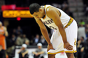Jan. 19, 2011; Cleveland, OH, USA; Cleveland Cavaliers point guard Ramon Sessions (3) hangs his head during the final seconds of the fourth quarter against the Phoenix Suns at Quicken Loans Arena. The Suns beat the Cavaliers 106-98. Mandatory Credit: Jason Miller-US PRESSWIRE