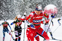 Maiken Caspersen Falla (NOR) during Ladies team sprint race at FIS Cross Country World Cup Planica 2019, on December 22, 2019 at Planica, Slovenia. Photo By Peter Podobnik / Sportida