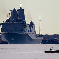 USS New York Stock Images