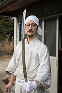 Yasha Yukawa, sv&auml;rdsmed i Hofu, Yamaguchi Prefektur, Japan <br /> Fotograf: Christina Sj&ouml;gren<br /> Copyright 2018, All Rights Reserved