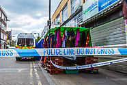 29 Apr 2017 - Blenheim Grove still closed more than 24 hours after Peckham fatal stabbing.