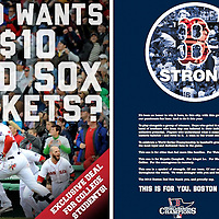 Photographs: Boston Red Sox Promotional Advertisements - 2013
