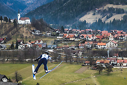 HOFFMANN Anna (USA) during qualification round of FIS Ski Jumping World Cup Ladies Ljubno 2020, on February 23th, 2020 in Ljubno ob Savinji, Ljubno ob Savinji, Slovenia. Photo by Matic Ritonja / Sportida