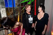 Yasmine Mills; Julian Macdonald; Sadie Frost, Rodial Beautiful Awards. Sanderson Hotel. 1 February 2011. -DO NOT ARCHIVE-© Copyright Photograph by Dafydd Jones. 248 Clapham Rd. London SW9 0PZ. Tel 0207 820 0771. www.dafjones.com.