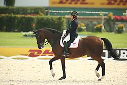 Haim-Swarovski Evelyn, (AUT), Dorina<br /> European Championship Aachen 2015 - Dressage<br /> © Hippo Foto - Stefan Lafrentz