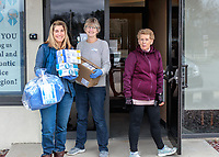 """Dental Associates of Walpole Partners in Walpole MA<br /> """"The Local Heroes Photo Project"""" March 23, 2020<br /> <br /> Personal Protective Equipment (PPE) includes surgical gowns, gloves, and masks which were donated to Beth Israel Deaconess Hospital."""