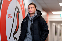 Chloe Logarzo of Bristol City Women arrives at Stoke Gifford Stadium prior to kick off - Mandatory by-line: Ryan Hiscott/JMP - 17/02/2020 - FOOTBALL - Stoke Gifford Stadium - Bristol, England - Bristol City Women v Everton Women - Women's FA Cup fifth round