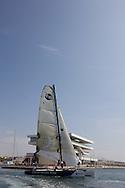 08_00416 © Sander van der Borch. Valencia - Spain,  May 18th 2008 . Extreme40 practice regatta.