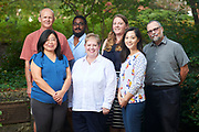 Graduate Writing and Research Center tutors pose for a department photo.