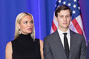 Jared Kushner and sister-in-law Vanessa Trump celebrate the victory of billionaire and GOP presidential candidate Donald Trump in the South Carolina Republican primary February 20, 2016 in Spartanburg, South Carolina, USA .